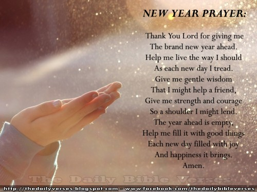 new year quotes prayer 500x375