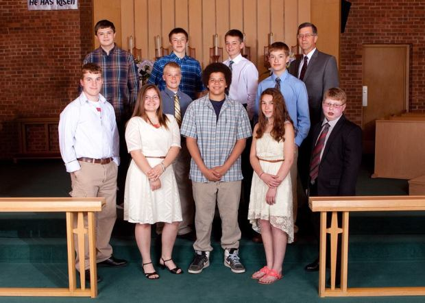 Hope Confirmation Class 2015