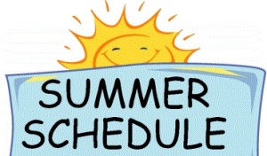 summer-schedule shortened